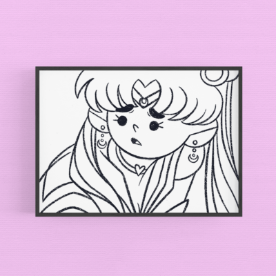 Coloring page ~ sailor moon